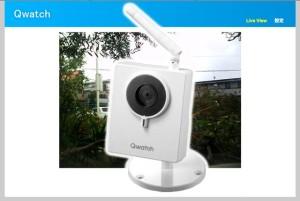 TS-WLCAM 有線/無線LAN対応ネットワークカメラ「Qwatch(クウォッチ)」