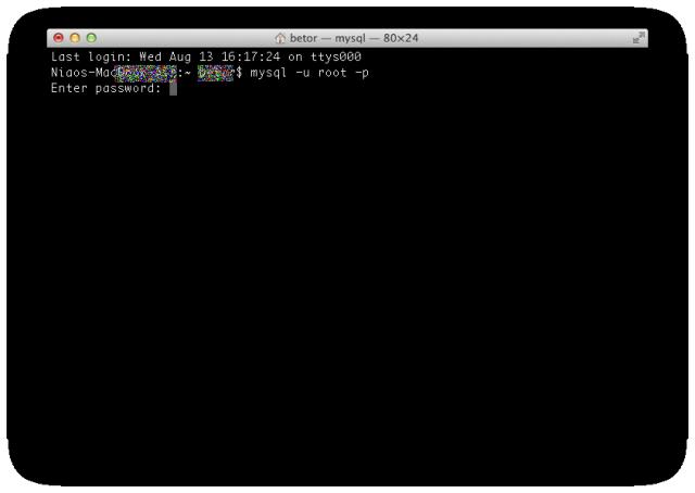 ターミナルでsqlファイルをインポートする1