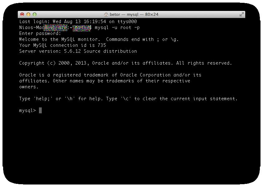 ターミナルでsqlファイルをインポートする2