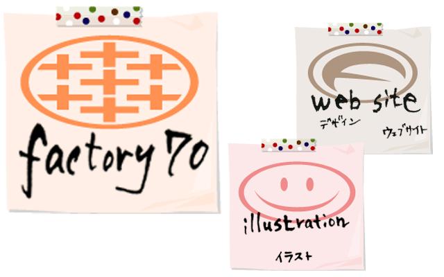 Factory70ロゴ(ver.2006)