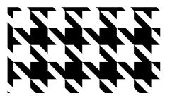 千鳥格子のパターンスウォッチ