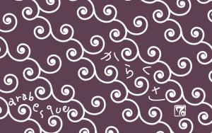 唐草模様のパターンスウォッチの作り方 Making Arabesque pattern swatch in adobe illsutrator