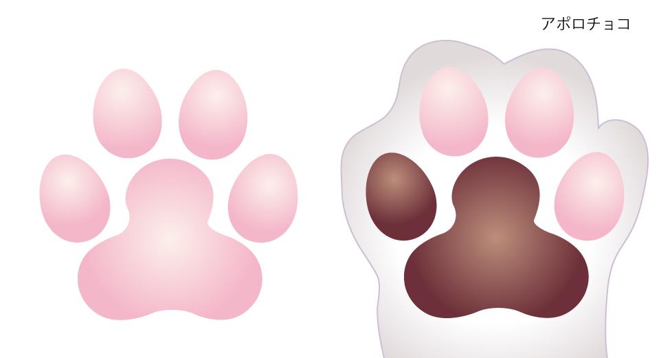 アドビ イラストレーターの使い方 肉球を描く方法