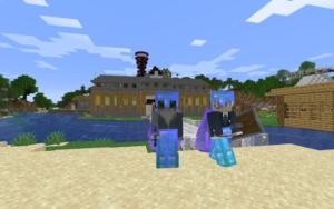 minecraft 友達とマルチプレイで遊ぶ