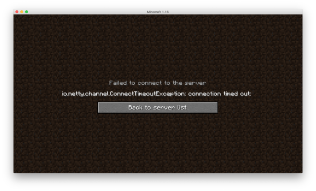 Minecraft マルチサーバーにワールドデータをアップロードしてみたらエラー