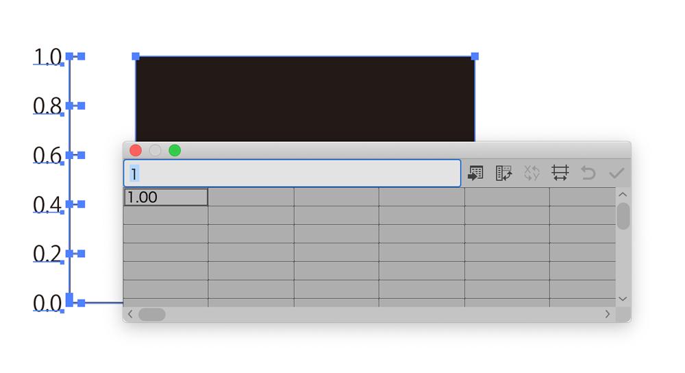 Adobe Illustrator グラフツールの使い方