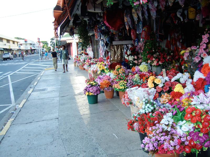 いろとりどりの造花屋