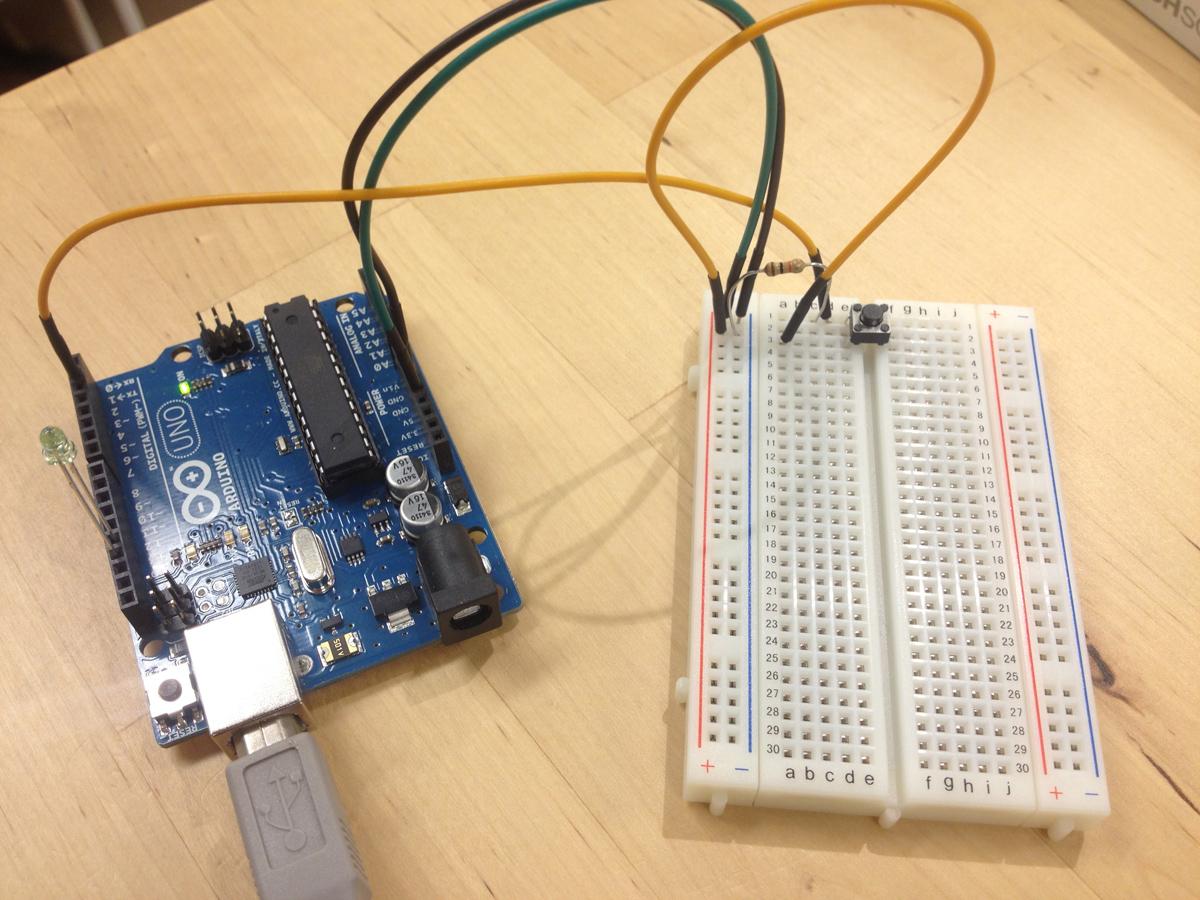 ArduinoでHello World配線