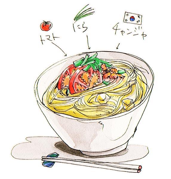 冷やしたマルちゃん正麺、略して冷やし正麺!