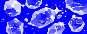 イラレでクラッシュアイス(氷)を描く