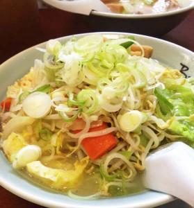 シンガポールで食べたラーメン。