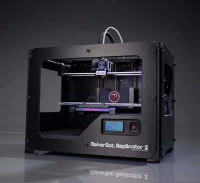 3Dプリンタ・MakerBot Replicator 2