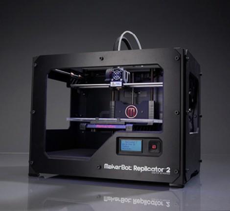 3Dプリンタ・MakerBot Replicator 2